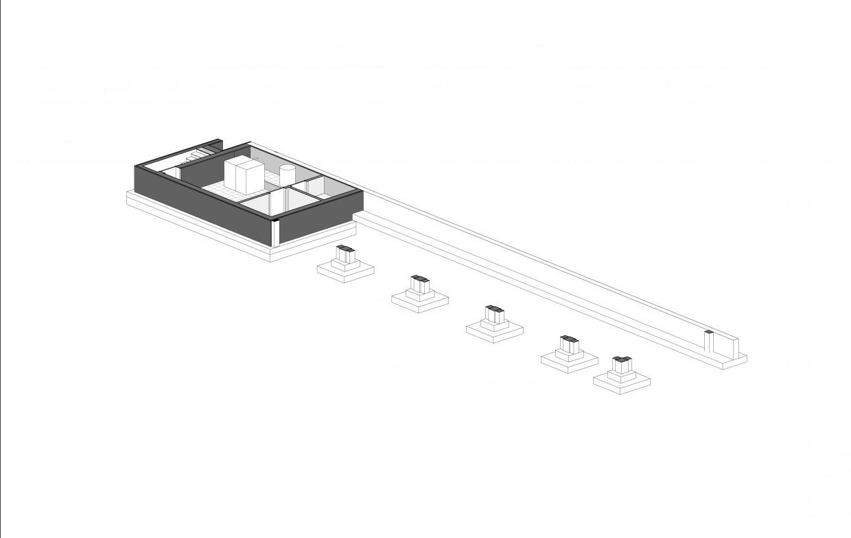 схема подземной части здания
