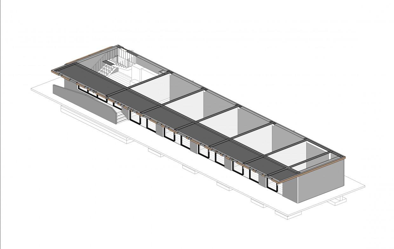 трёхмерная схема этажа