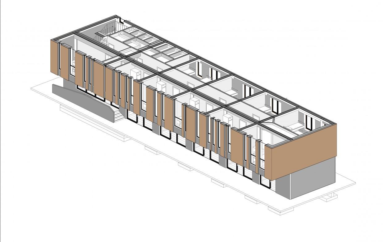 трёхмерная схема здания